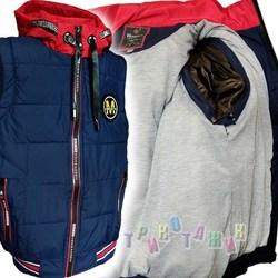 Куртка-жилетка для мальчика, модель WK821. Сезон весна-осень