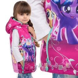 Мультяшная жилетка Little pony 2
