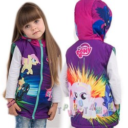 Мультяшная жилетка My little pony