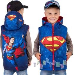Мультяшная жилетка Superman