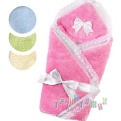 Тёплый конверт-одеяло для новорожденного, вельсофт