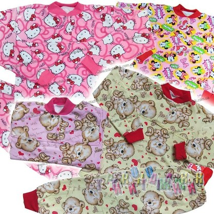 Пижама под манжет футер цветной