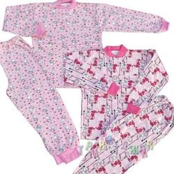 Пижама под манжет футер цветной. Для девочки