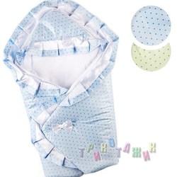 Тёплый конверт-одеяло для новорожденного, с пелёнкой