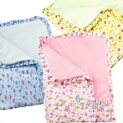 Одеяло велюровое, с рисунком
