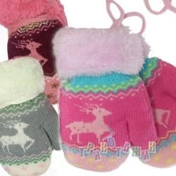 Варежки для девочек