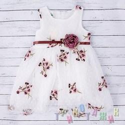 Нарядное платье для девочки м.8801