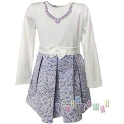 Нарядное платье для девочки, с ожерельем