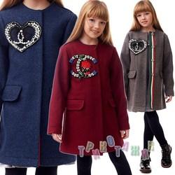 Пальто детское для девочки Ловел