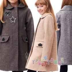Пальто детское для девочки Сюзи