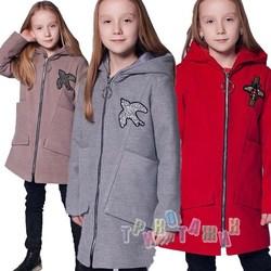 Пальто детское для девочки, Ласточка