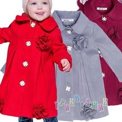 Пальто детское для девочки, Малявка
