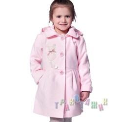 Пальто детское для девочки, Мими