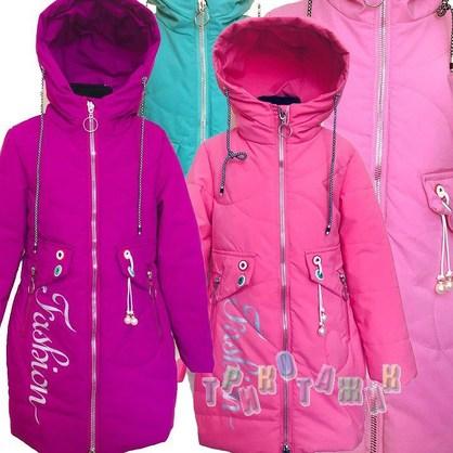 Демисезонная куртка для девочки, м.Z918