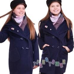 Пальто детское для девочки, Тифани