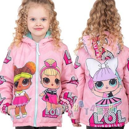 Куртка детская, Lol. Сезон Весна-Осень
