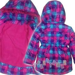 Куртка для девочки, Клеточка. Сезон весна-осень