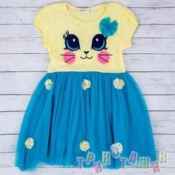 Платье для девочки м. 10676
