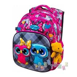 Рюкзак школьный для девочек 8050