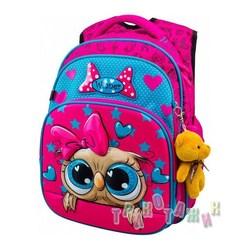 Рюкзак школьный для девочек 8044