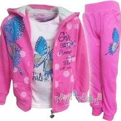 Спортивный костюм для девочки, Butterfly