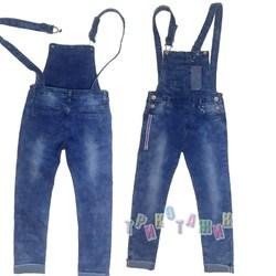 Комбинезон джинсовый для девочки, м.0819