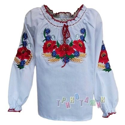Вышиванка для девочки, модель 111