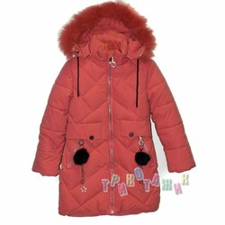 Куртка зимняя для девочки, м.1901