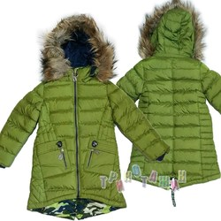 Куртка зимняя для девочки, Т17
