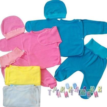 Комплект для новорожденных интерлок