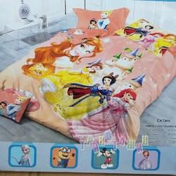 Комплект постельного белья, Принцессы (полуторный)