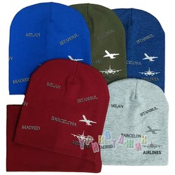 Комплект шапка и хомут, AirLines