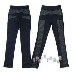Зауженные брюки для девочки. Модель 1909