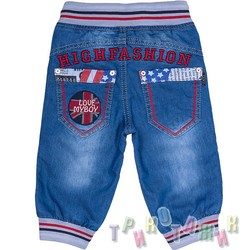 Бриджи джинсовые, м.11158