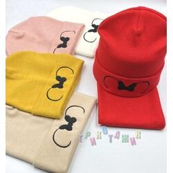 Комплект подростковый, шапка и хомут, М159