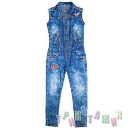 Комбинезон джинсовый, м.6912А