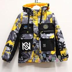 Куртка демисезонная двусторонняя, W2126