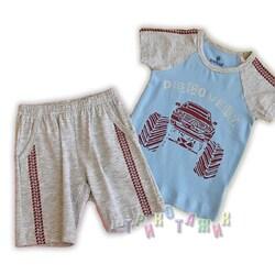 Пижама м.9653-1-2