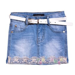 Юбка джинсовая, м.8962