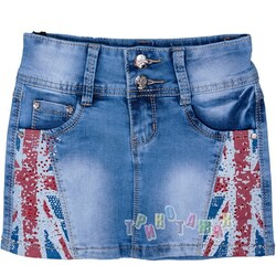 Юбка джинсовая, м.1462