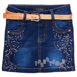 Юбка джинсовая, м.30591