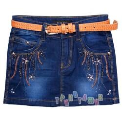 Юбка джинсовая, м.166