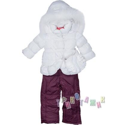 Комбинезон зимний для девочки м. 2115