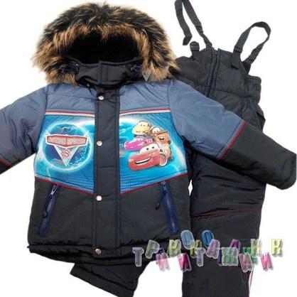 Комбинезон зимний для мальчика Cars (Украина)
