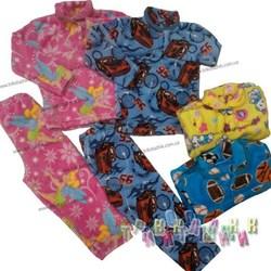 Пижама махра рв.полированная цветная