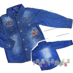Джинсовая рубашка NewYork