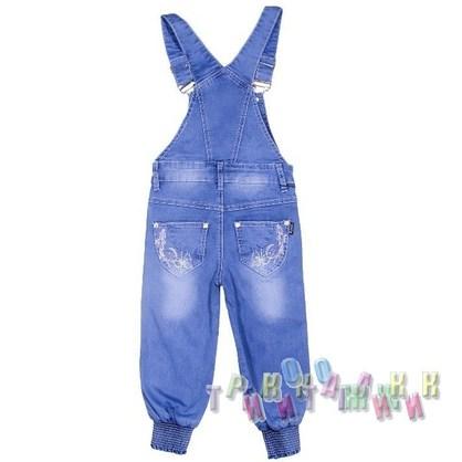 Комбинезон джинсовый для девочки м.6583 (Турция)