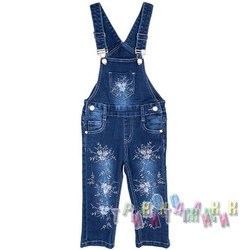 Комбинезон джинсовый для девочки м.636 (Турция)