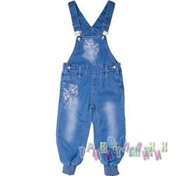 Комбинезон джинсовый для девочки м.6664 (Турция)