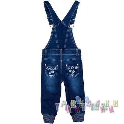 Комбинезон джинсовый для девочки м.8404 (Турция)